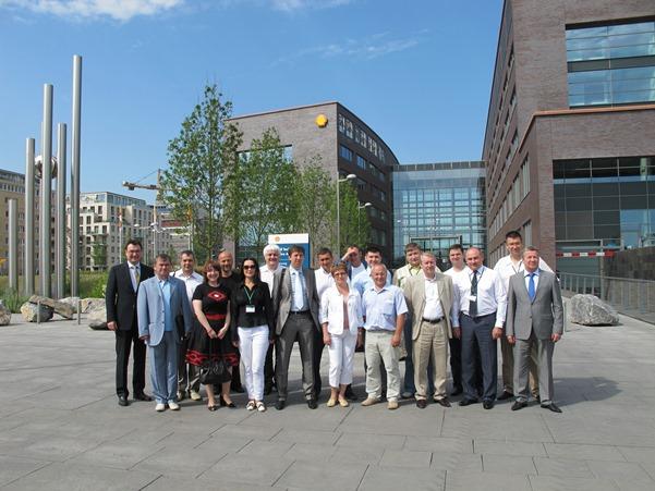 Стажировка программы Executive MBA: Нефтегазовый бизнес в Нидерландах. Посещение Shell Technology Center.
