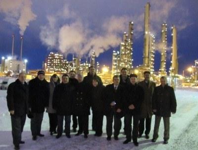 Стажировка руководителей НПЗ в Финляндии