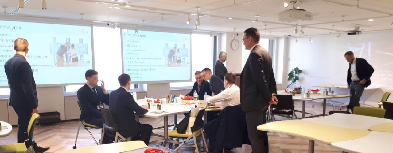 Стажировка ПАО НОВАТЭК в Японии. Fujitsu Digital Transformation Center