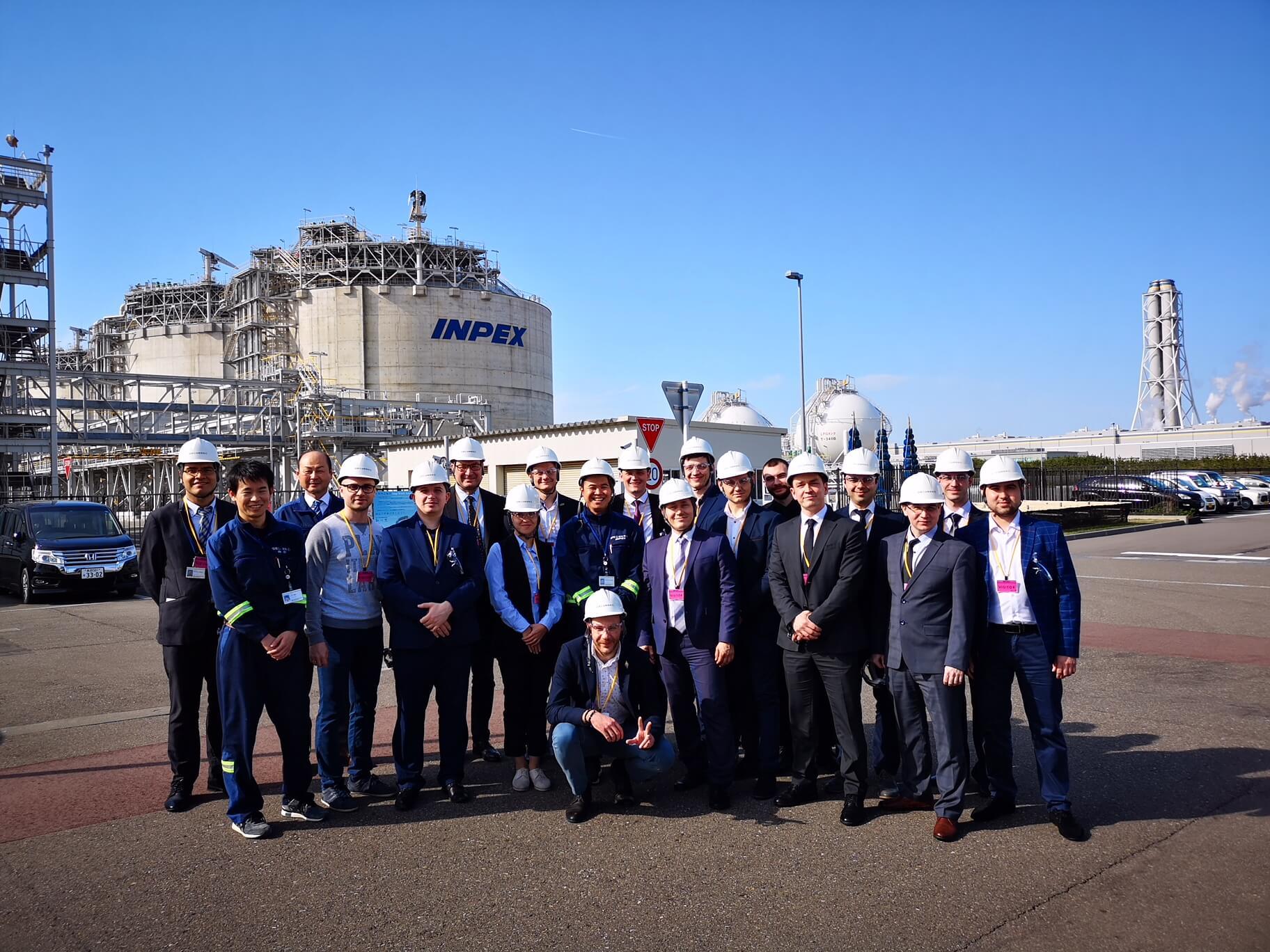 Naoetsu LNG Terminal, НОВАТЭК, повышение квалификации