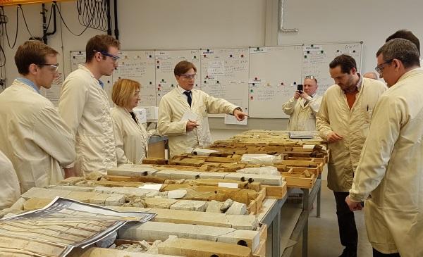 Стажировка Московского института нефтегазового бизнеса в Австрии. Посещение OMV TECH center&lab