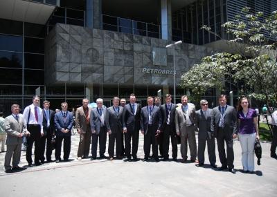 Стажировка Московского института нефтегазового бизнеса в Бразилии и Аргентине. Посещение компании Petrobras.
